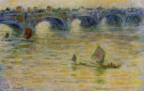 Waterloo Bridge, 1899 by Claude Monet