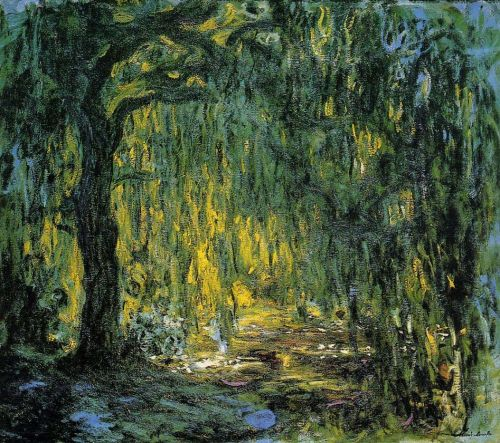 Weeping Willow, 1918-1919 by Claude Monet