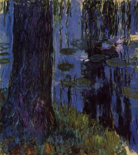 Weeping Willow and Water-Lily Pond, 1916-1919 by Claude Monet