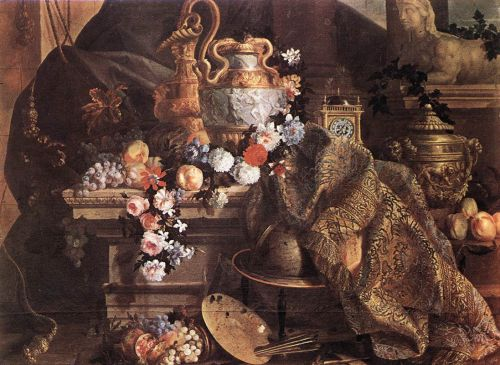 Still-Life of Flowers and Fruits by Jean-Baptiste Monnoyer