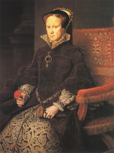Queen Mary Tudor of England by Anthonis Mor Van Dashorst