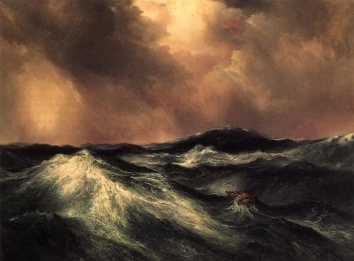 The Angry Sea by Thomas Moran