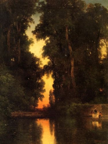 The Borda Gardens, Mexico by Thomas Moran