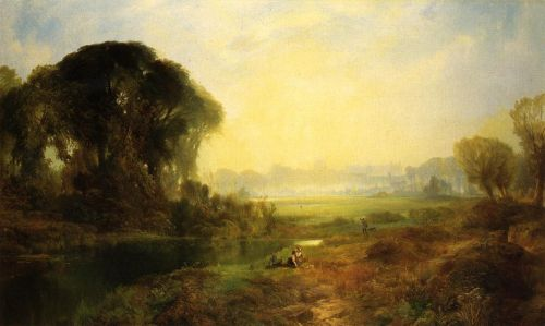 Windsor Castle by Thomas Moran