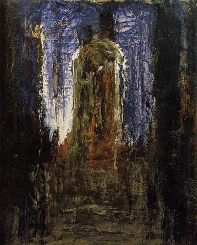 abstract painting 3 of 73 by gustave moreau