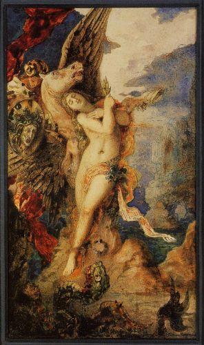 Perseus and Andromeda by Gustave Moreau