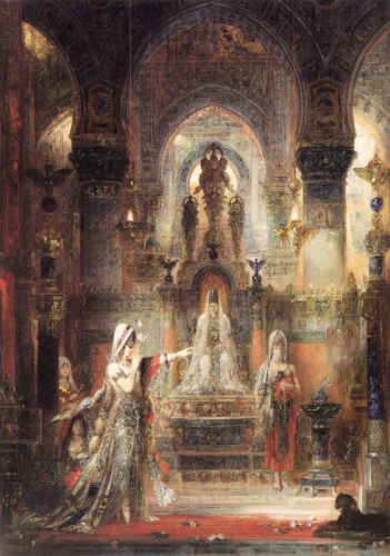 Salomé Dancing before Herod by Gustave Moreau