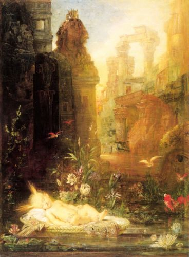 Young Moses by Gustave Moreau