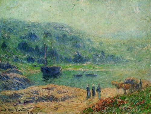 Creek in Brittany by Henri Moret