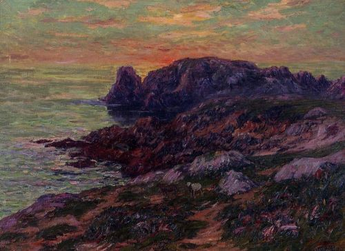 Ile d'Ouessant, Finistere by Henri Moret