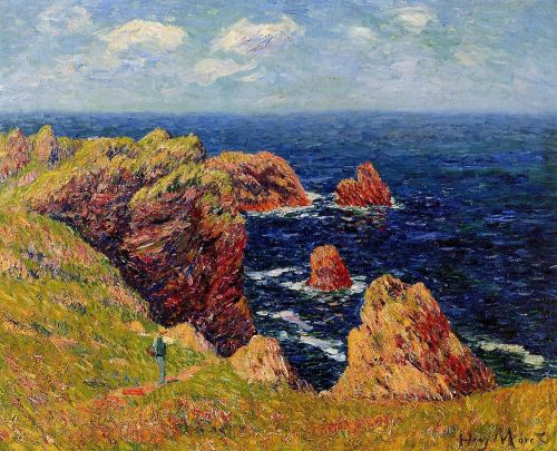 Promenade on the Coastal Path by Henri Moret