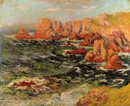 The Breton Coast by Henri Moret