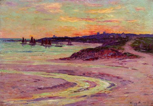 The Point de Lervily, Brittany by Henri Moret
