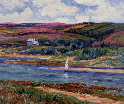 The River at Belon by Henri Moret