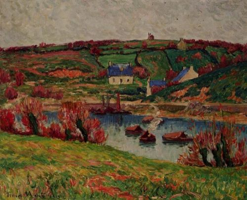 The River at Douaelan-sur-Mer by Henri Moret