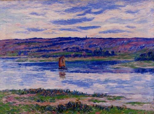 The River Basin, Finistere by Henri Moret
