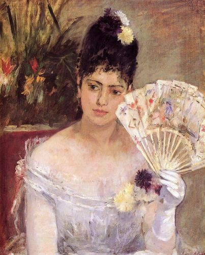 At the Ball (Au Bal), 1875 by Berthe Morisot