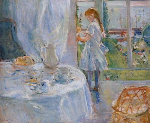 Cottage Interior (Interior at Jersey), 1886 by Berthe Morisot