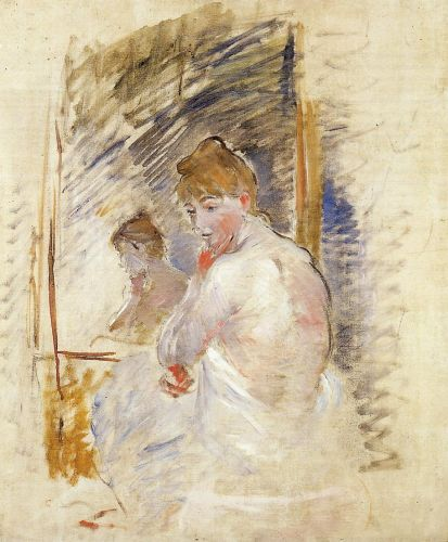 Getting out of Bed, 1885-1886 by Berthe Morisot