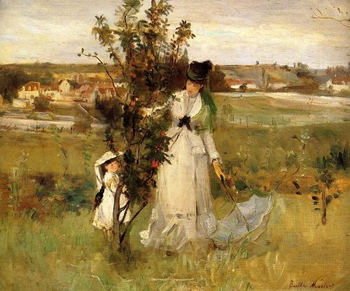 Hide and Seek, 1873 by Berthe Morisot