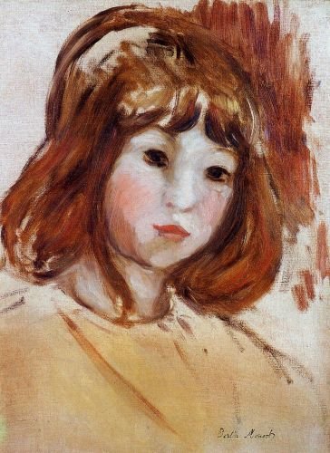 Portrait of a Young Girl, 1870-1880 by Berthe Morisot