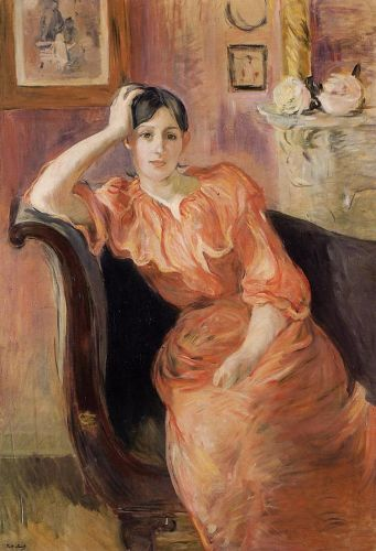 Portrait of Jeanne Pontillon, 1894 by Berthe Morisot