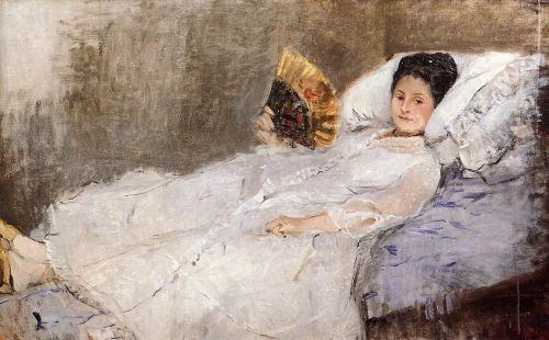 Portrait of Madame Hubbard, 1874 by Berthe Morisot