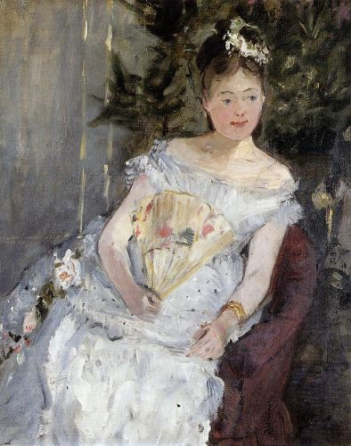 Portrait of Marguerite Carre (Young Girl in a Ball Gown), 1873 by Berthe Morisot