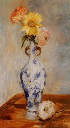 The Blue Vase, 1888 by Berthe Morisot