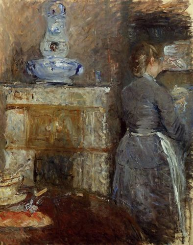 The Dining Room of the Rouart Family, 1880 by Berthe Morisot