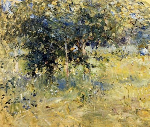 Willows in the Garden at Bougival, 1884 by Berthe Morisot