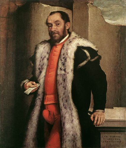 Portrait of Antonio Navagero by Giovanni Battista Moroni