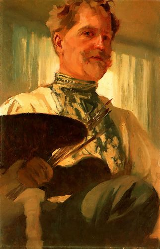 Self-Portrait by Alphonse Maria Mucha