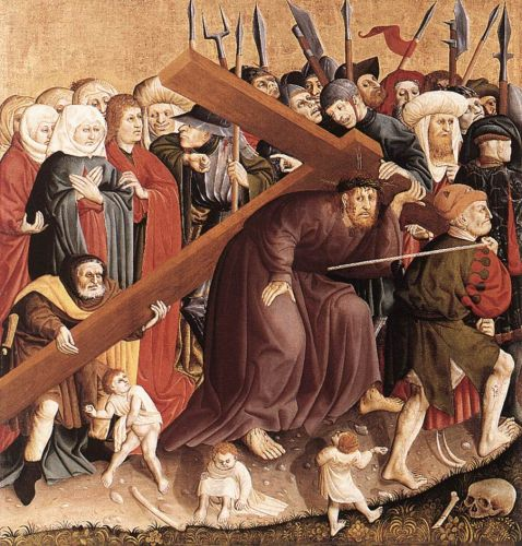 Christ Carrying the Cross by Hans Multscher