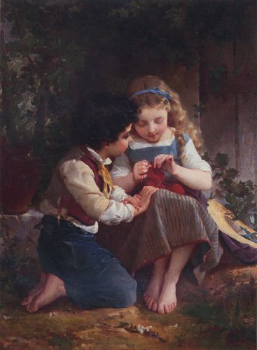 A Special Moment by Émile Munier
