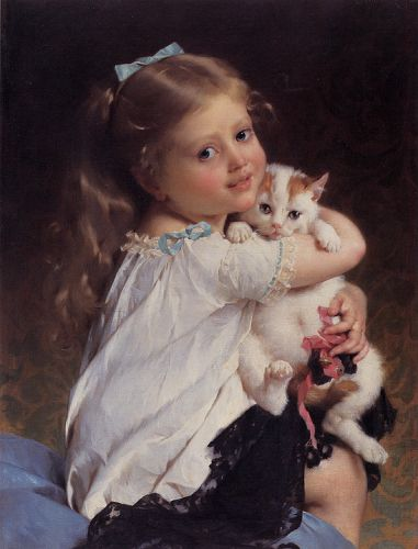 Her Best Friend by Émile Munier
