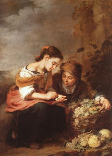 The Little Fruit Seller by Bartolomé Esteban Murillo