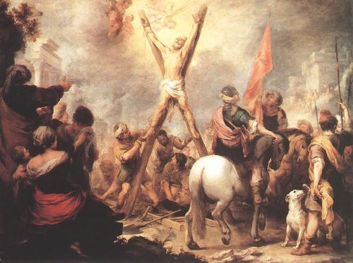 The Martyrdom of St Andrew by Bartolomé Esteban Murillo
