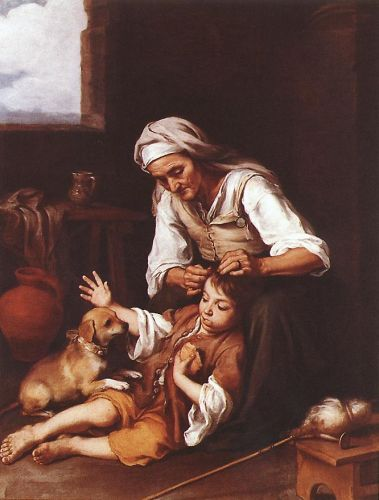 The Toilette by Bartolomé Esteban Murillo