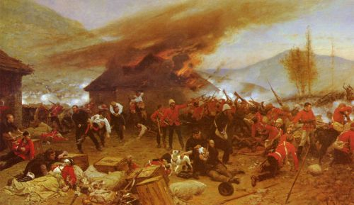 The Defence Of Rorke's Drift by Alphonse Marie Adolphe de Neuville