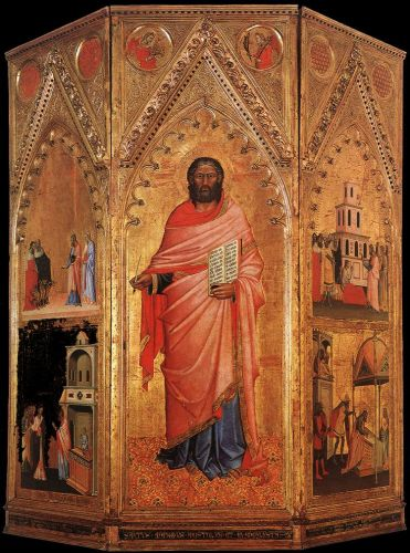 Saint Matthew and scenes from his Life by Andrea di Orcagna