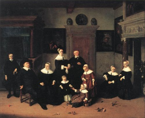 Portrait of a Family by Adriaen van Ostade