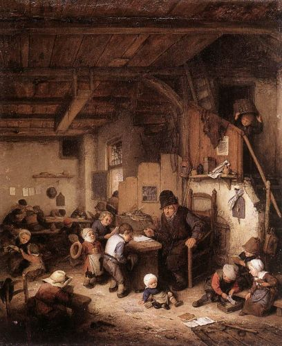 The School Master by Adriaen van Ostade