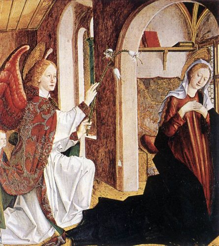 Annunciation by Michael Pacher