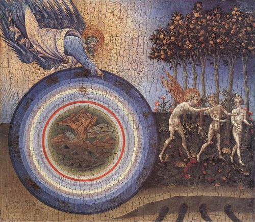 The Creation and the Expulsion from the Paradise by Giovanni di Paolo