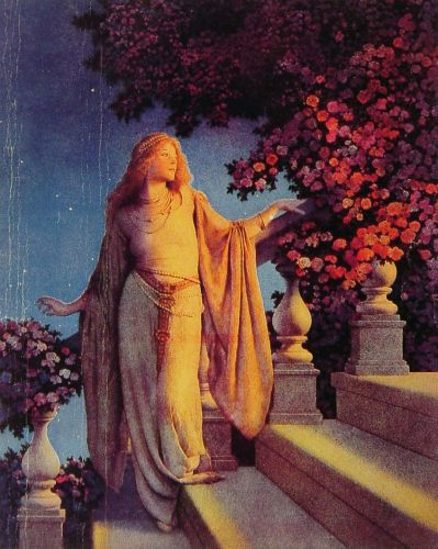 Cinderella by Maxfield Parrish