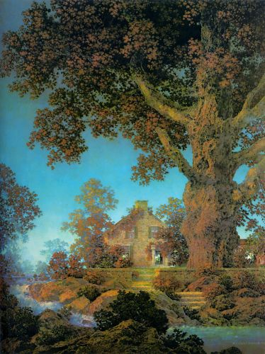 Morning Light by Maxfield Parrish