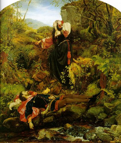 The Bluidie Tryst by Joseph Noel Paton