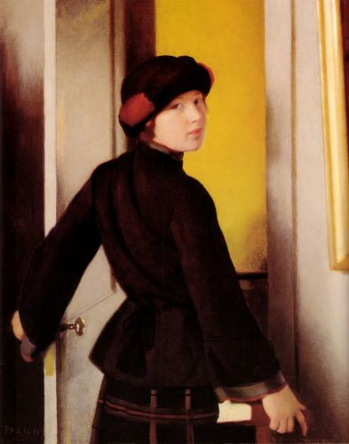 Leaving the Studio by William McGregor Paxton