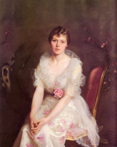 Portrait of Louise Converse by William McGregor Paxton